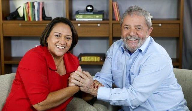 """Em pronunciamento no Senado, Fátima Bezerra """"comemora"""" suspensão do pronunciamento de Lula"""
