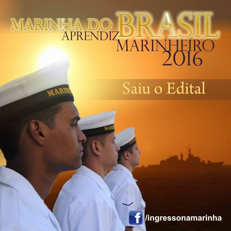 Marinha: publicado concurso para 1.340 vagas de nível médio. Inscrições até dia 28