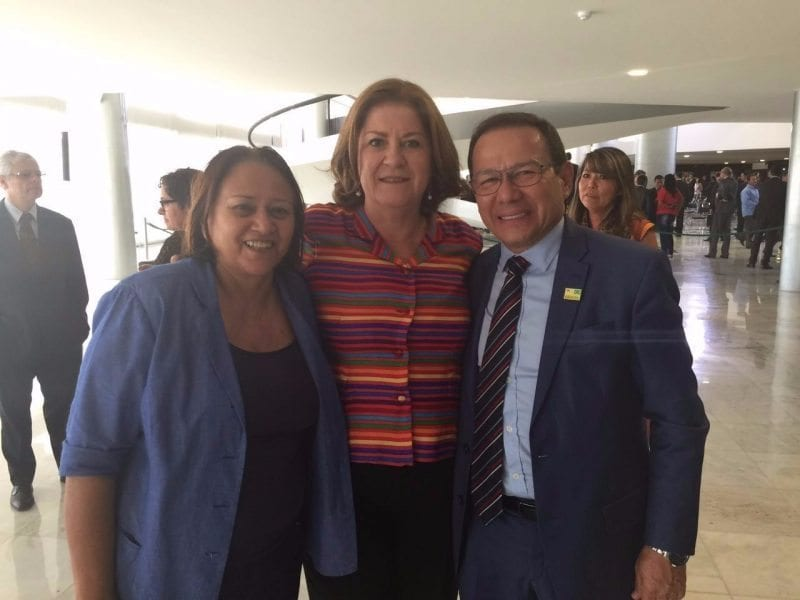 Senadora Fátima Bezerra participa do lançamento do Minha Casa Minha Vida 3