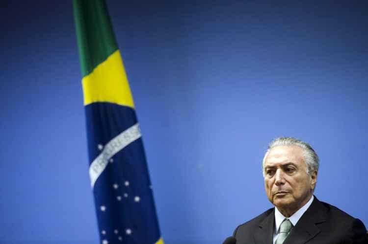 Vice-presidente da República Michel Temer FOTO:  Marcelo Camargo/ Agência Brasil