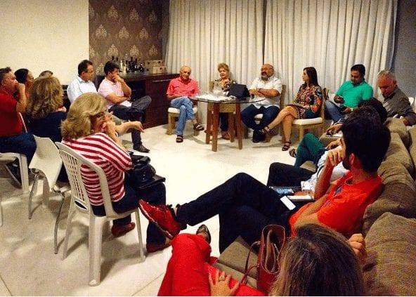 Deputa Márcia Maia se reúne com correligionários mais próximos para definir pré-candidatura