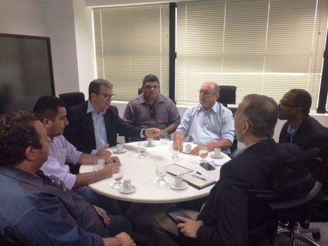 Prefeito Ivan Junior e vereadores discutem insegurança no município do Assú com secretário Ronaldo Lundgren