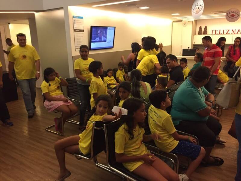 Lions Clube de Natal Reis Magos  promove ação em shopping da cidade