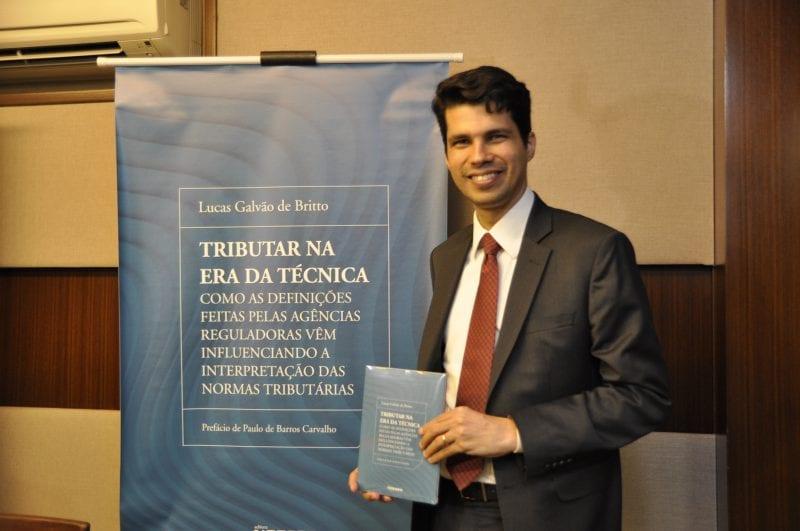 Professor do IBET lança, em Natal, novo livro sobre Direito Tributário