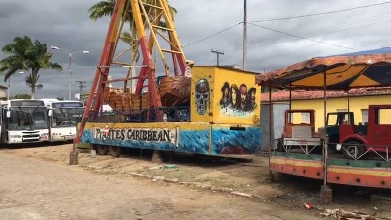 Dono de parque de diversões é preso por furto de energia na cidade de Montanhas, no Agreste potiguar