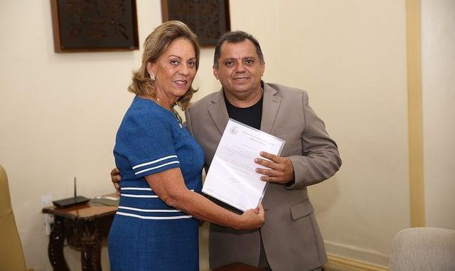 Rosalba Ciarlini empossa novo secretário