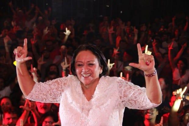 Governadora decide entrar na disputa em Passa e Fica e vai apoiar professora Cibelly