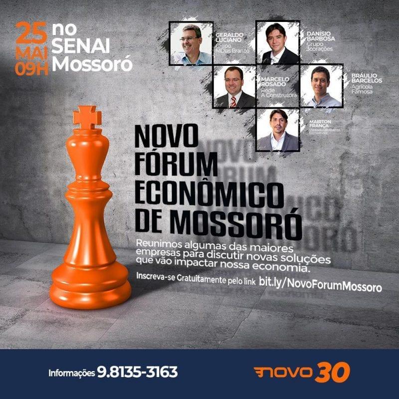 Partido realizará Novo Fórum Econômico de Mossoró