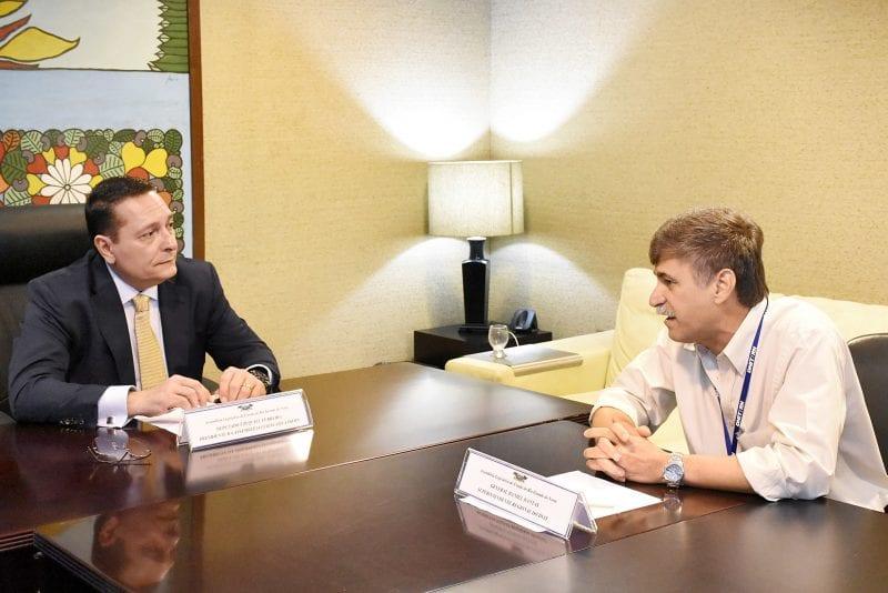 Superintendente do Dnit mostra projetos e pede apoio da Assembleia Legislativa