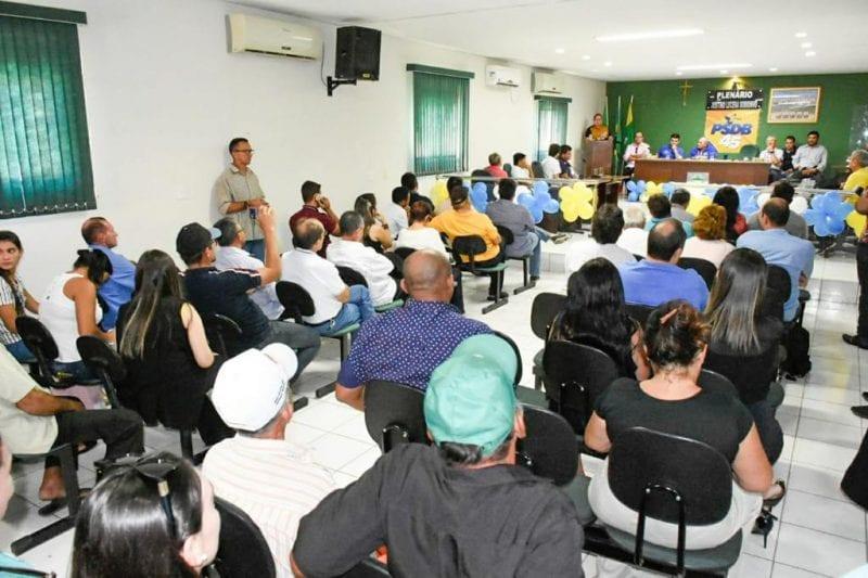 PSDB ganha mais um vice-prefeito e Ezequiel Ferreira anuncia que fará encontros regionais