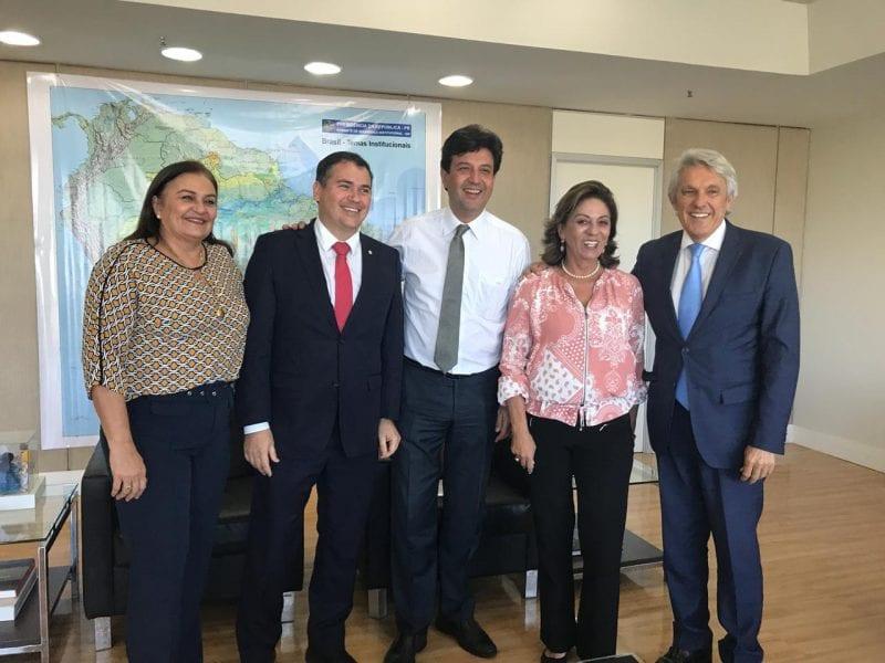 João Maia se reúne com Ministro da Saúde sobre visita ao RN