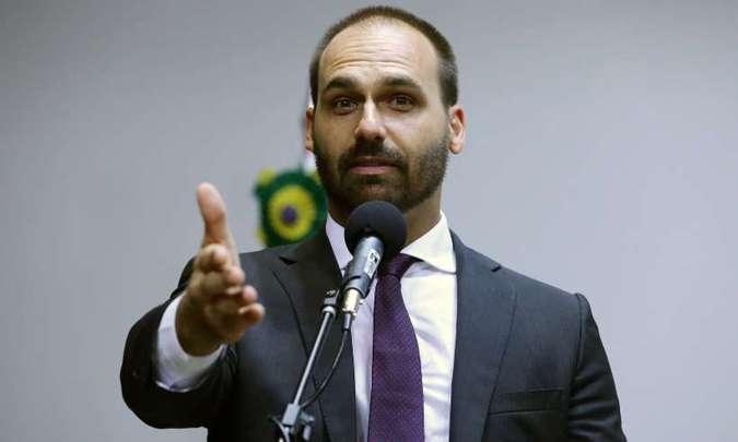 Cidadania pede ao STF que barre Eduardo Bolsonaro embaixador nos EUA
