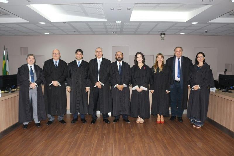 Wlademir Capistrano participa de última sessão plenária como membro da corte do TRE-RN