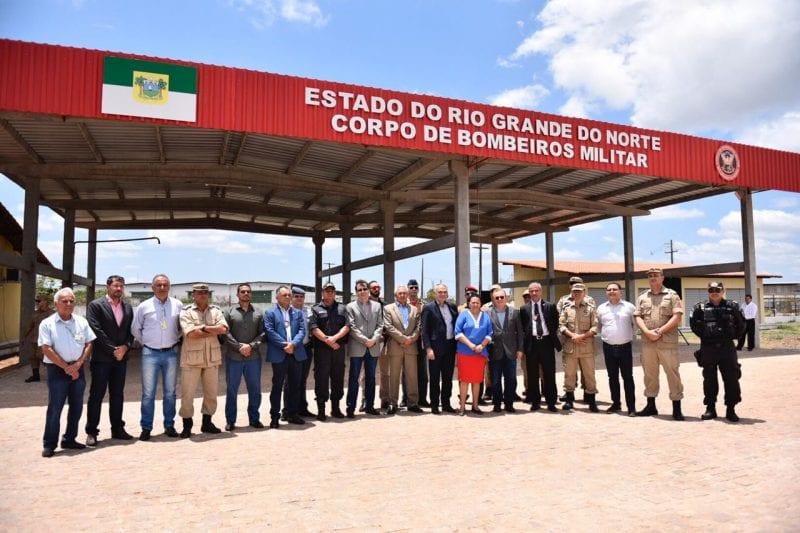 Governo entrega nova unidade do Corpo de Bombeiros em São Gonçalo do Amarante