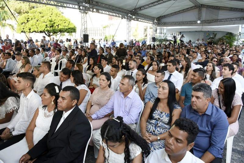 Casamento comunitário finaliza festejos pelos 30 anos da Constituição do RN