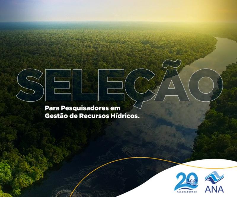IPEA seleciona bolsistas para buscar inovações para aperfeiçoar gestão das águas