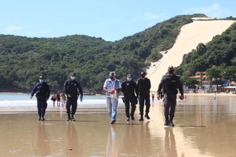 Prefeitura do Natal intensifica fiscalização das praias com apoio da PM