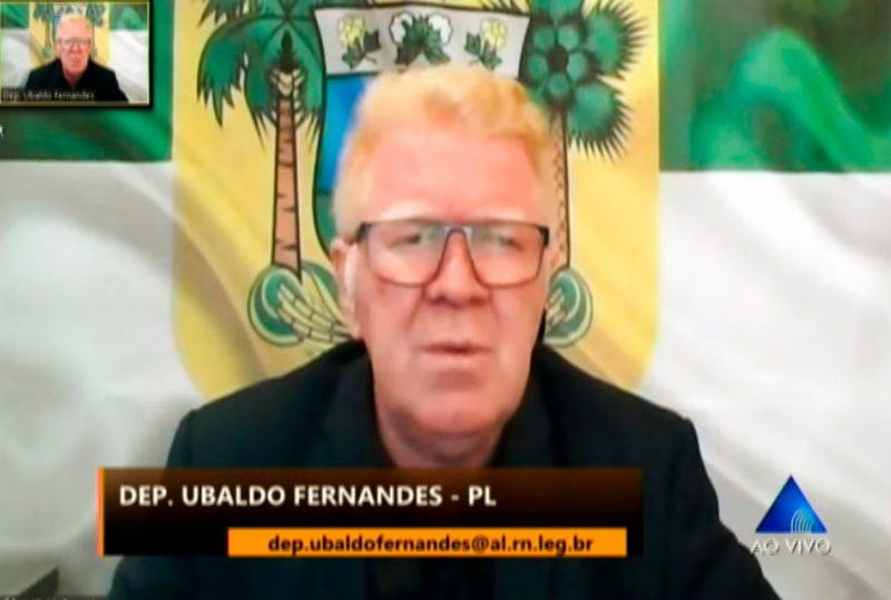 Deputado Ubaldo Fernandes pede que DER instale redutores de velocidade na entrada de São José de Campestre