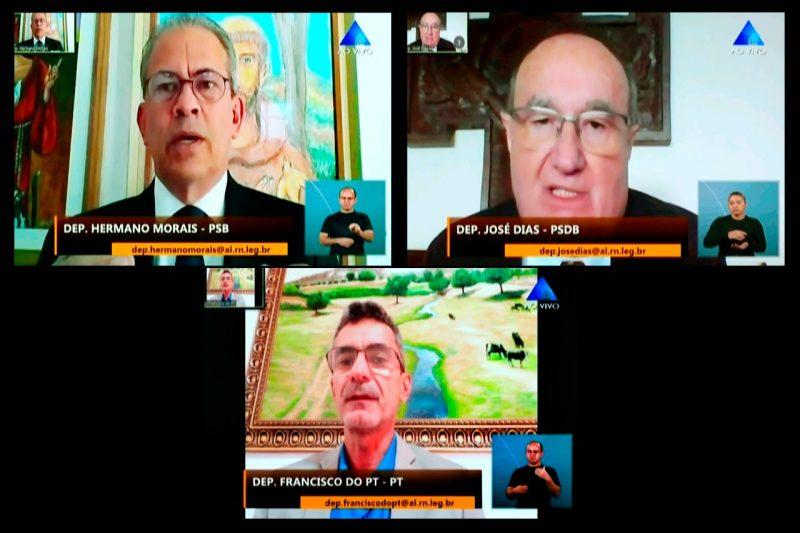 Saída da Petrobras do RN domina debate entre líderes da Assembleia