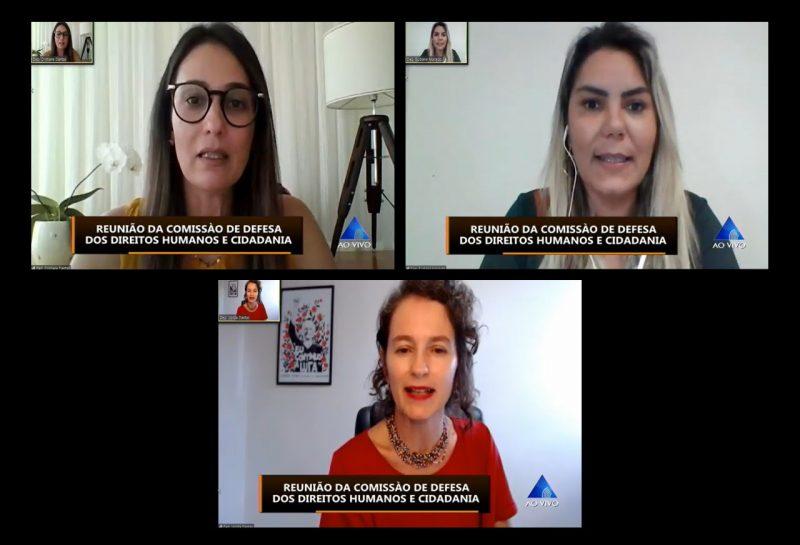 Deputada Cristiane Dantas é empossada na presidência da Comissão dos Direitos Humanos
