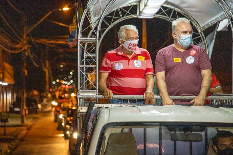 Depois das duras críticas ao Governo Fátima, Fernando Lucena faz carreata com Jean Paul