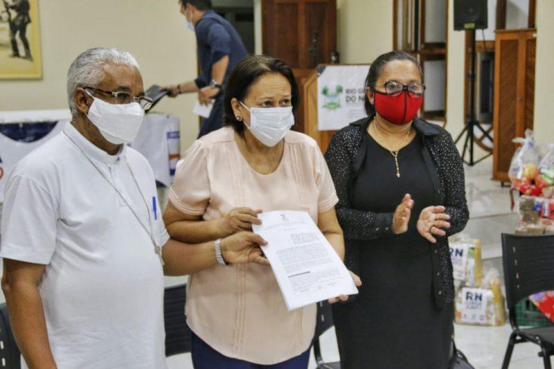 Governo do RN formaliza com Cáritas Diocesana a gestão do aluguel social