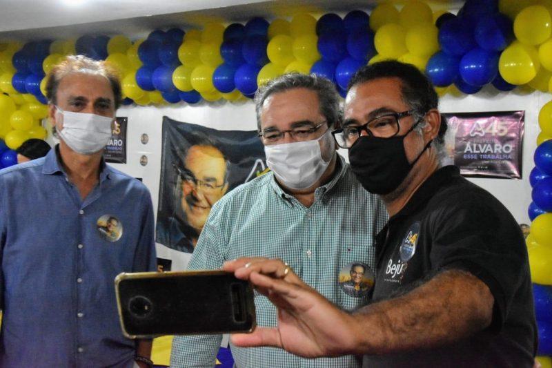 Álvaro Dias reforça compromisso com a Cultura em encontro com artistas