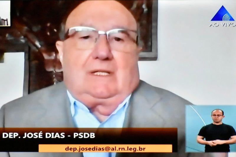 Deputado José Dias cobra ação de combate aos crimes rurais no RN