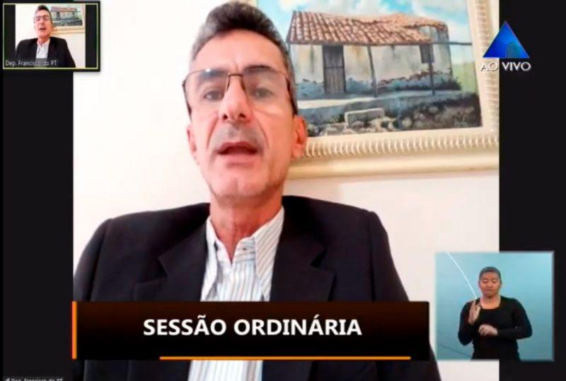 Deputado Francisco do PT solicita apoio para desapropriar área que será Nova Barra de Santana