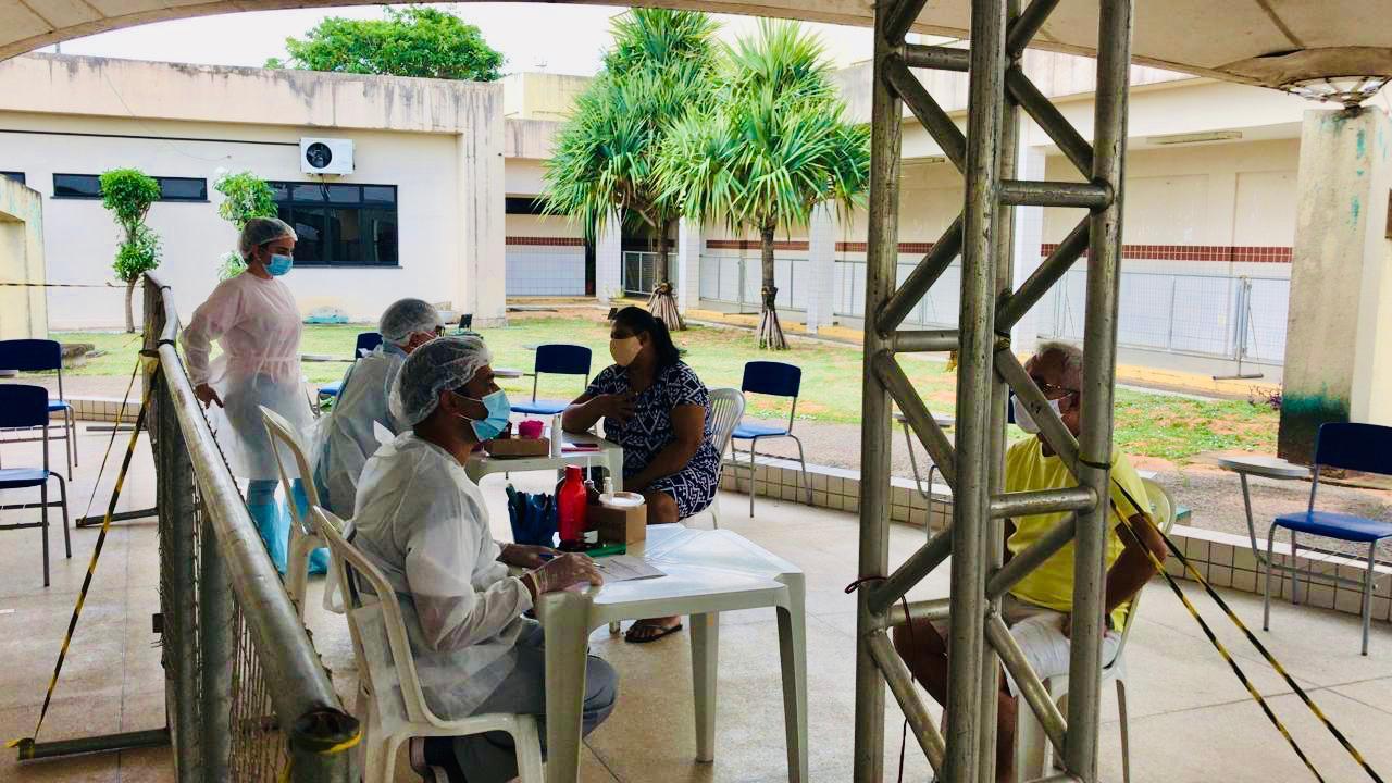 Centros Covid de Natal registram 515 atendimentos neste final de semana