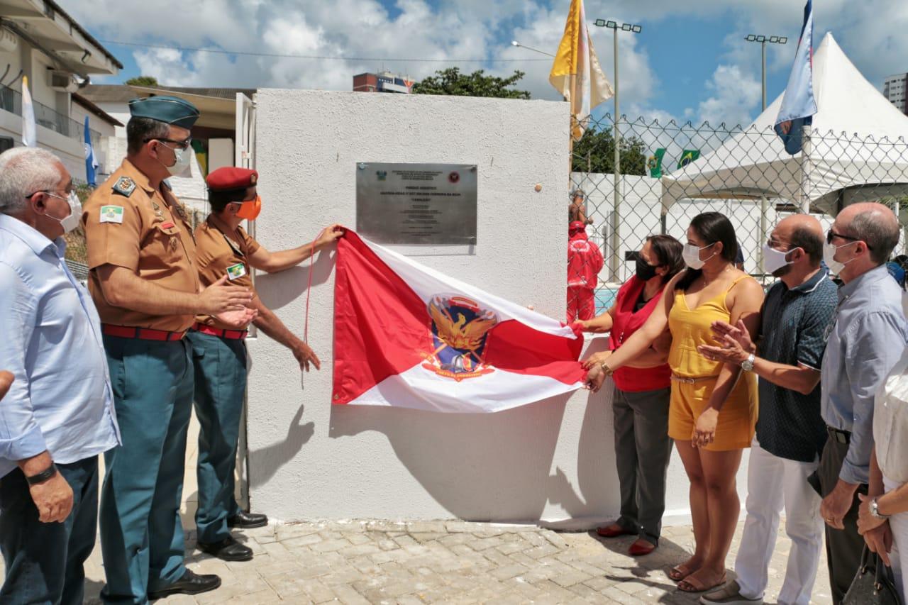 Governo do RN inaugura Parque Aquático do Corpo de Bombeiros com piscina semiolímpica