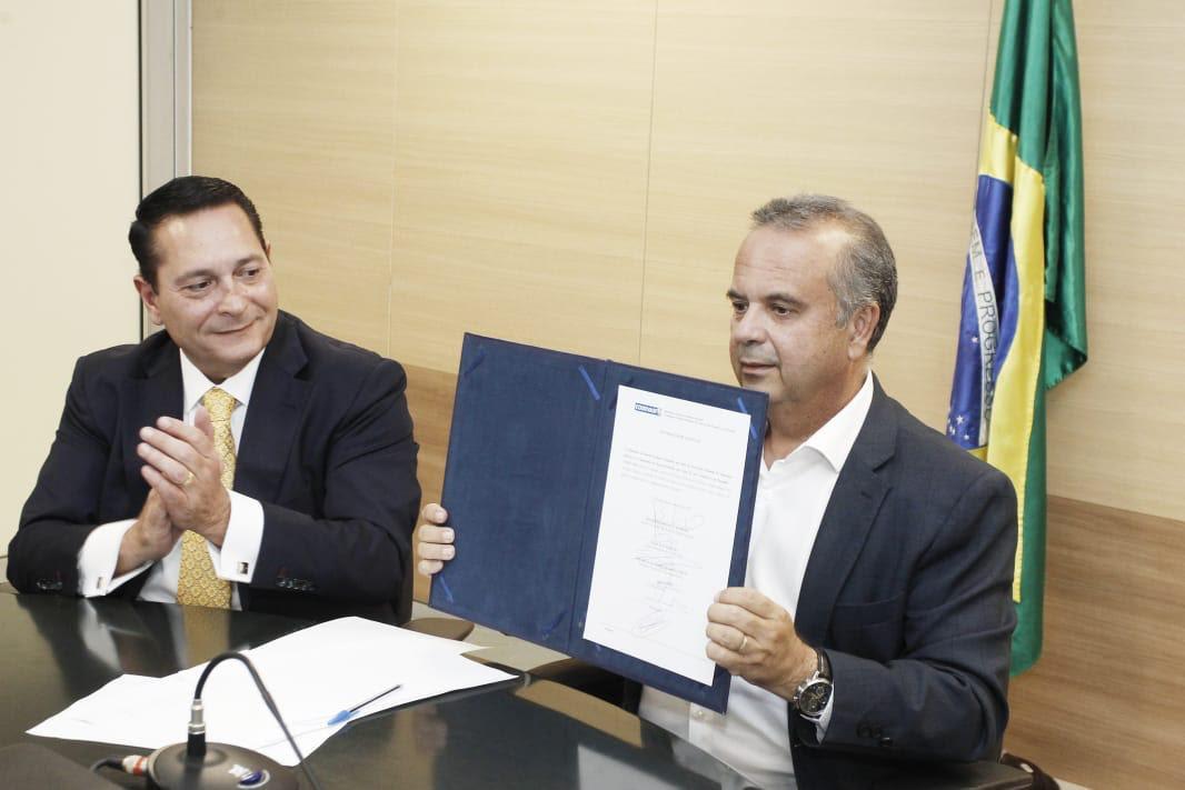 Deputado Ezequiel participa do lançamento de licitação do Projeto Seridó e celebra conquista para o RN