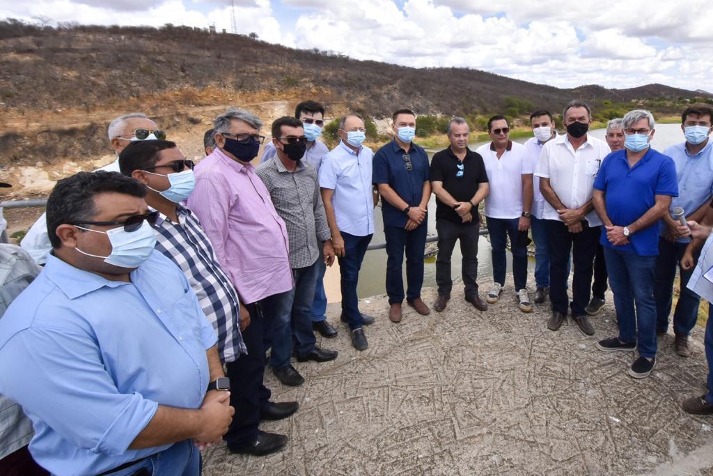 Início de recuperação da Barragem Passagem das Traíras é anunciada oficialmente pelo ministro Rogério Marinho