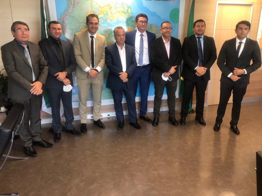 Prefeito eleito de Macaíba se reúne com ministro do Desenvolvimento Regional