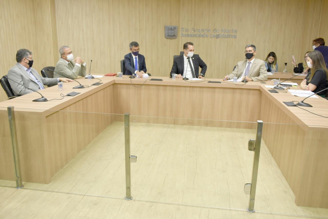 CCJR da Assembleia Legislativa aprova atualização do Regimento Interno da Casa