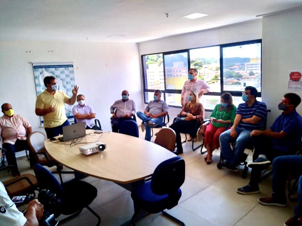 Novos vereadores participam de reunião na Semurb sobre a revisão do Plano Diretor