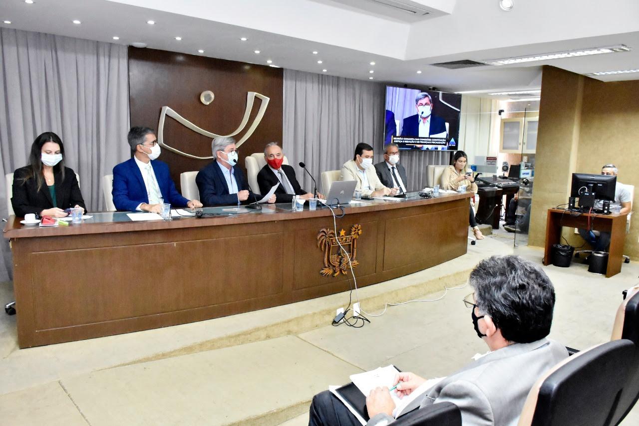 Em reunião conjunta, Comissões derrubam veto parcial do Governo ao Projeto da LDO