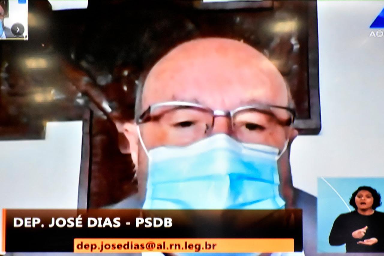 Deputado José Dias comenta matérias enviadas pelo Governo para apreciação legislativa