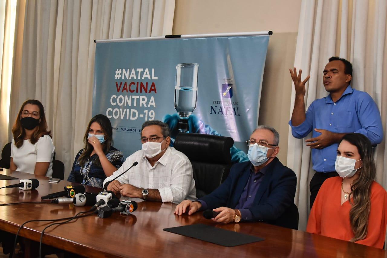 Prefeitura do Natal anuncia Plano Preliminar de Vacinação contra Covid-19