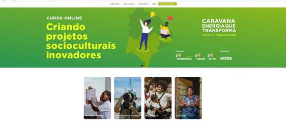 Cosern e Instituto Neoenergia lançam imersão on line e gratuita para organizações socioculturais