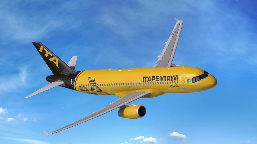 Primeira aeronave da nova companhia aérea brasileira chega a Natal