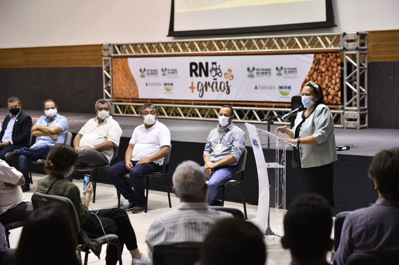Governo lança o RN + Grãos para estimular produção no litoral