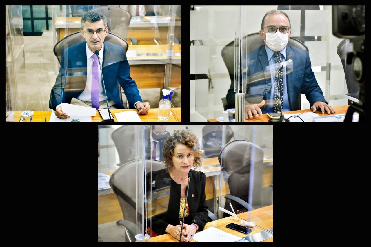 Agricultura familiar e reajuste dos combustíveis são debatidos por líderes parlamentares