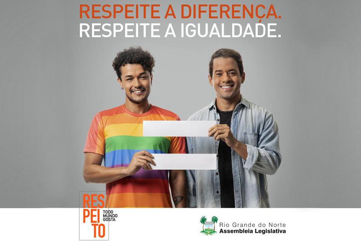 Respeito é o tema da nova campanha lançada pela Assembleia Legislativa