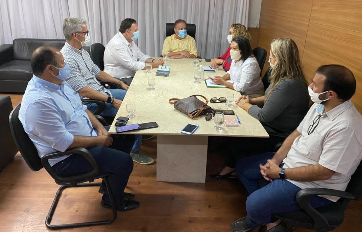 Presidente da Câmara de Natal recebe presidente da União dos Vereadores do Brasil