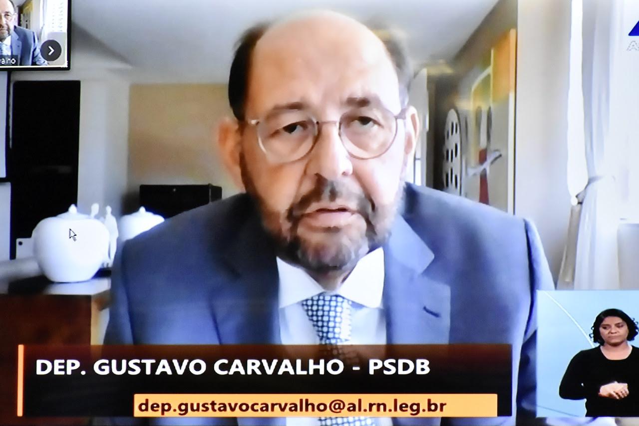 Deputado Gustavo Carvalho é conduzido à presidência da CFF da Assembleia Legislativa