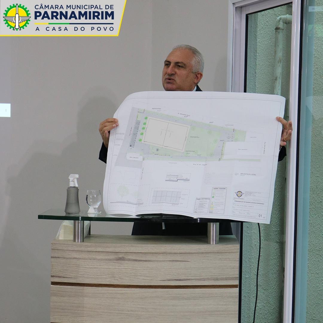 Caminhódromo do conjunto Parnamirim II tem obras iniciadas