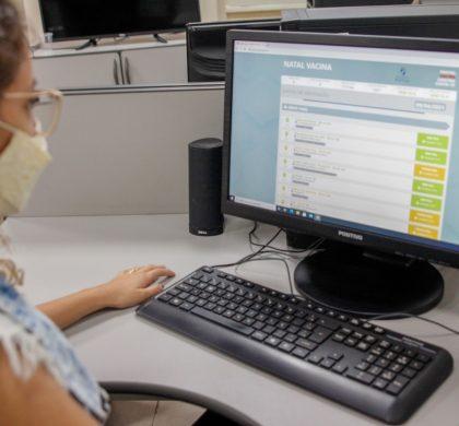 Plataforma lançada pela Prefeitura informa em tempo real dados sobre pontos de vacinação