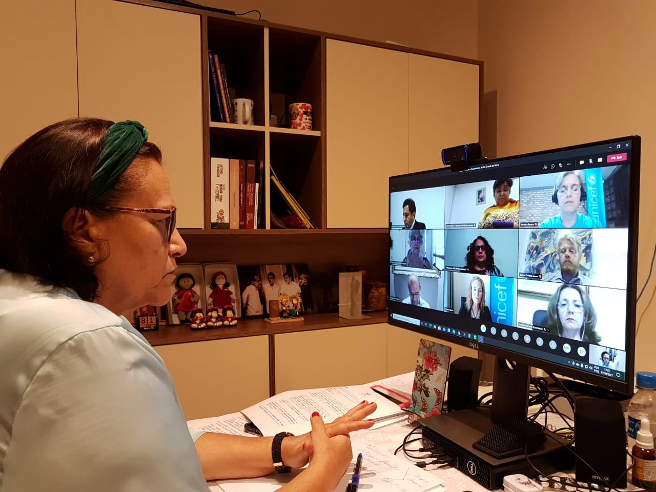 Unicef sugere que boas práticas educacionais do RN sejam compartilhadas com outros estados