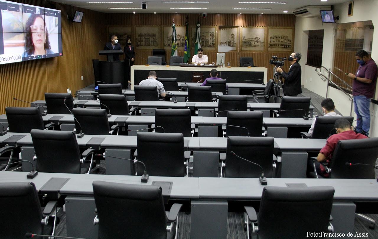 Projeto prevê obrigatoriedade na tradução em Libras nas sessões e reuniões virtuais
